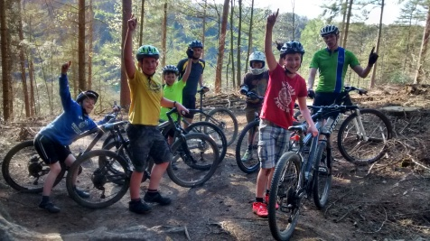 Mountain bike club April 2015