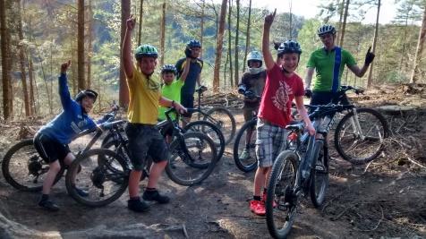 Mountain bike club April 2015
